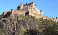 Edinburgh Castle from Princes Street