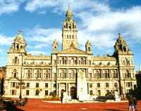 Accommodation close to Glasgow City Chambers