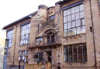 Charles Rennie Mackintosh designed the iconic School of Art building