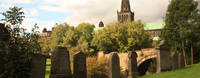 Glasgow's famous Necropolis, final resting place of many famous Scottish icons
