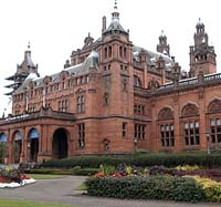 Kelvingrove Art Gallery and Museum, close to the Sandyford Hotel