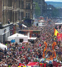 Accommodation near Glasgow West End Festival